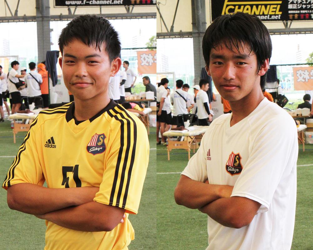 恒富優貴人と原田廉は何で山口の強豪・西京高校サッカー部を選んだのか?
