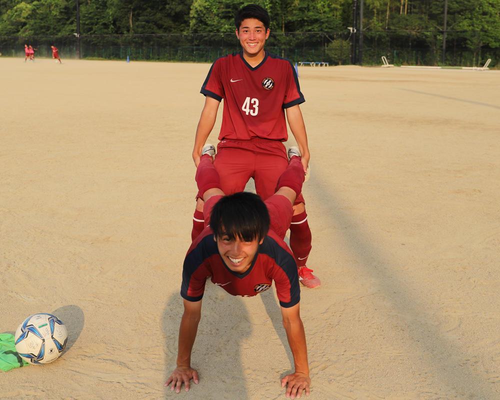 藤橋怜士と髙木大輝は何で京都の強豪・京都橘高校サッカー部を選んだのか?【2019 インターハイ出場校】