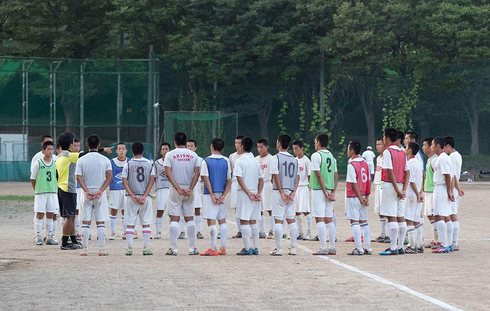 秋田商業サッカー部に聞いてみた!なんでこの高校を選んだの?
