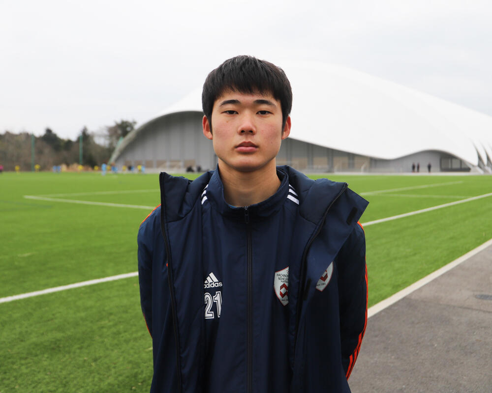【2021年 始動!】何で青森の強豪・八戸学院野辺地西高校サッカー部を選んだの?「監督みたいに細部までサッカーを追求できれば、自分をより高められると思いました」