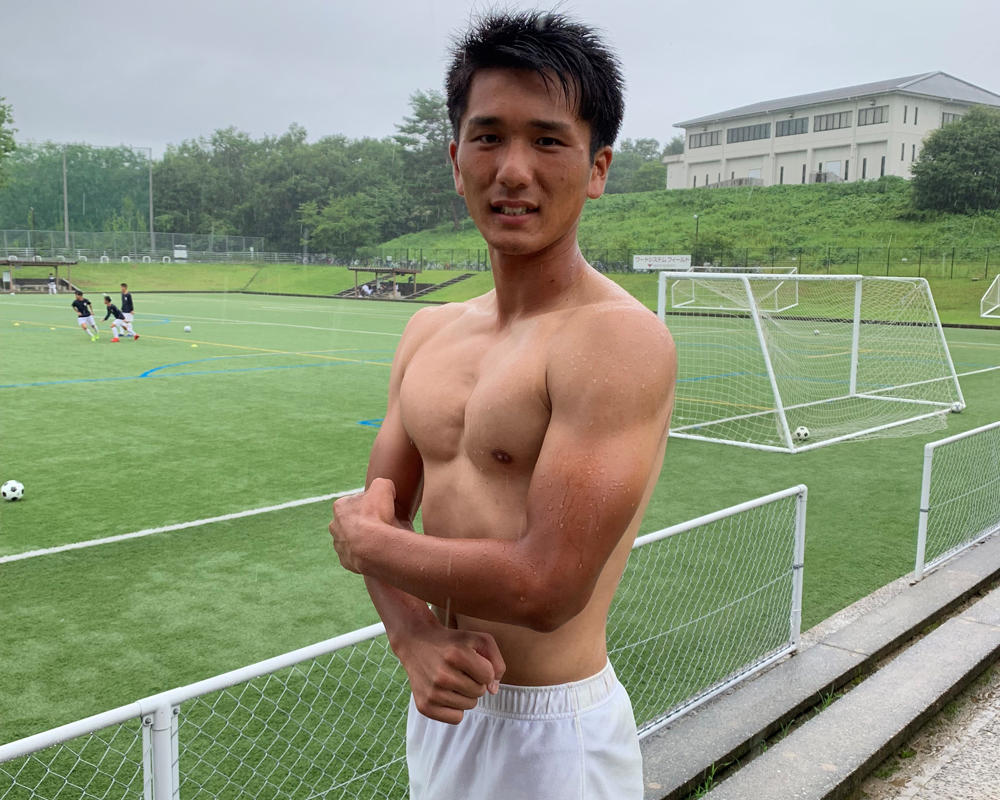 強豪・作陽高校サッカー部のフィジカルモンスターは矢木海成!【2019 インターハイ出場校】