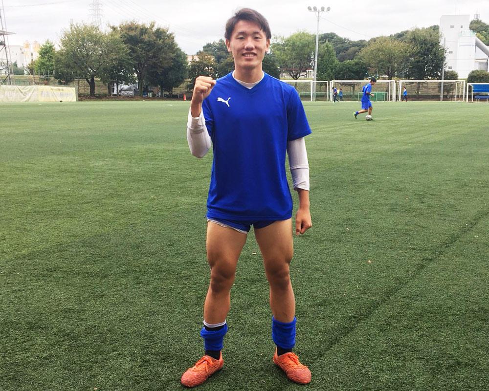 埼玉の強豪・西武台サッカー部のフィジカルモンスターは今田剛!