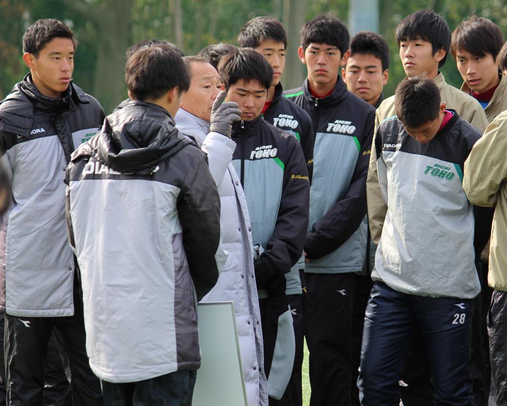 強豪・東邦の練習試合に密着!(26枚)【高校サッカー選手権 2018】
