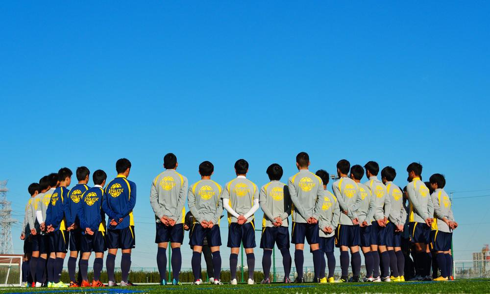 【選手権出場校】関東第一高校サッカー部あるある「白熱のビブスじゃんけん!」