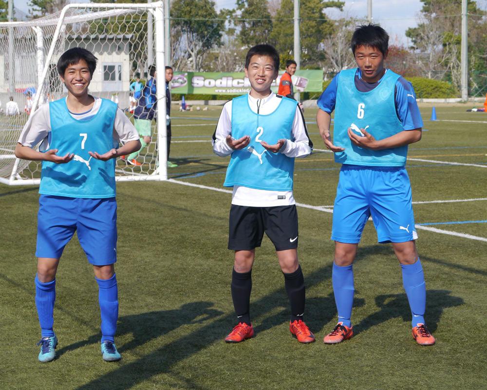 浜松開誠館高校サッカー部あるある「シュート練習後の