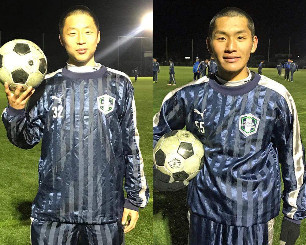 何で岡山学芸館高校サッカー部を選んだの?「一番は文武両道がかなう学校だから!」