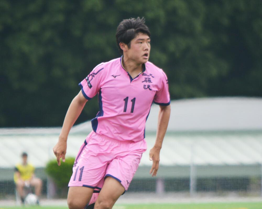 【2021年】神奈川の強豪・日大藤沢高校サッカー部|キーマン・大貫裕斗の誓い「守備も大事な役割なので、攻守でしっかりプレーをして勝利に貢献をしたい」