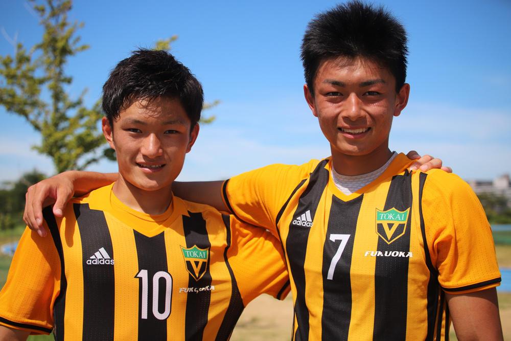 何で東海大福岡高校サッカー部を選んだの?「東福岡を倒して全国に行きたいと思った」