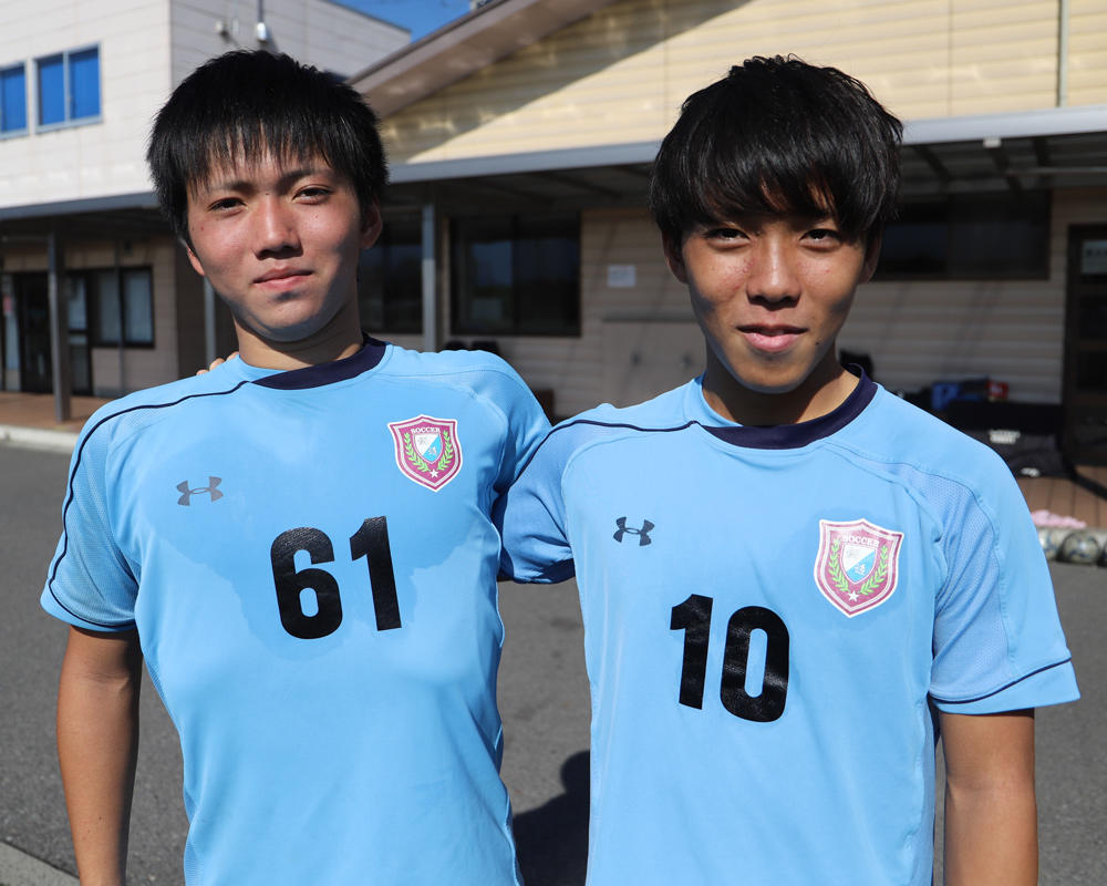 何で松本国際高校サッカー部を選んだの?「ゴール前での崩しの質が県内では高かった」