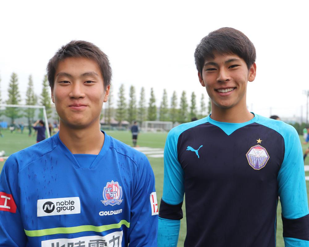 何で富山第一高校サッカー部を選んだの?「小さい頃から富山と言えばトミイチ」