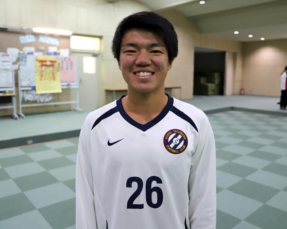 【京都橘高校サッカー部】篠永雄大のキャプテンはつらいよ!?