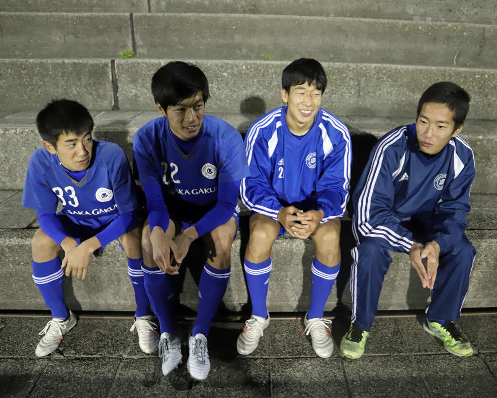 大阪学院大高サッカー部あるある「合宿でのご飯の量はかき氷!」【高校サッカー選手権 2018】