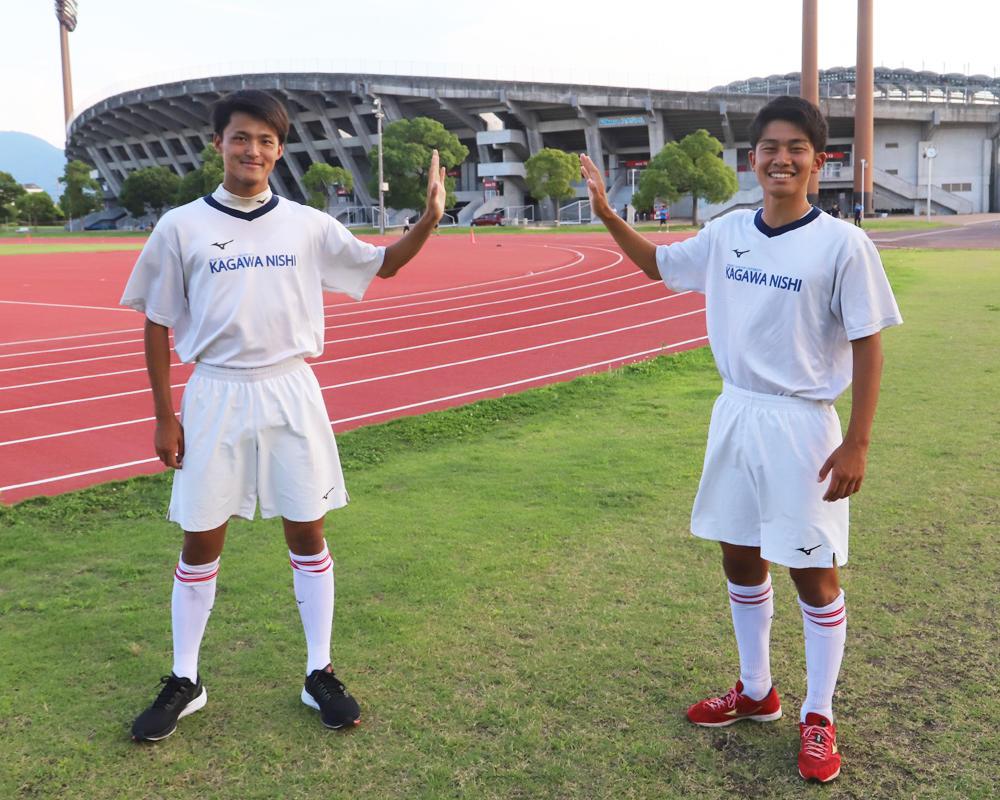 何で香川の強豪・四国学院大学香川西サッカー部を選んだの?|弥園祥太、箱崎達也編【2020年】