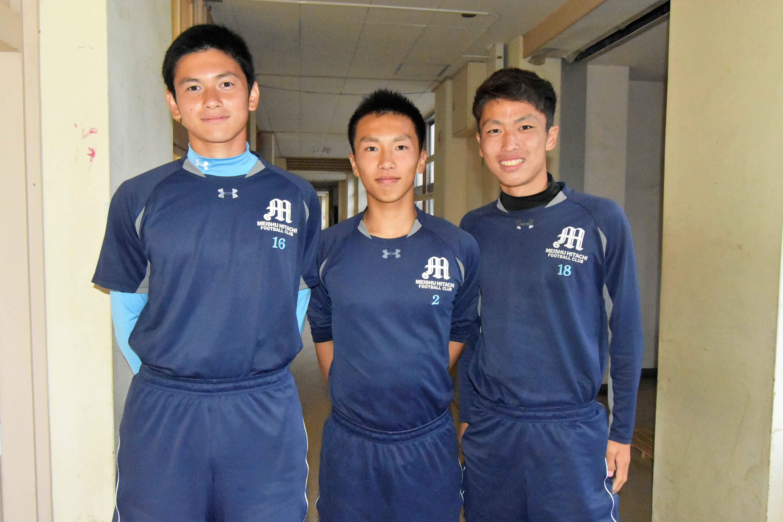 明秀日立高校サッカー部あるある「練習体験で3年生が一発芸」