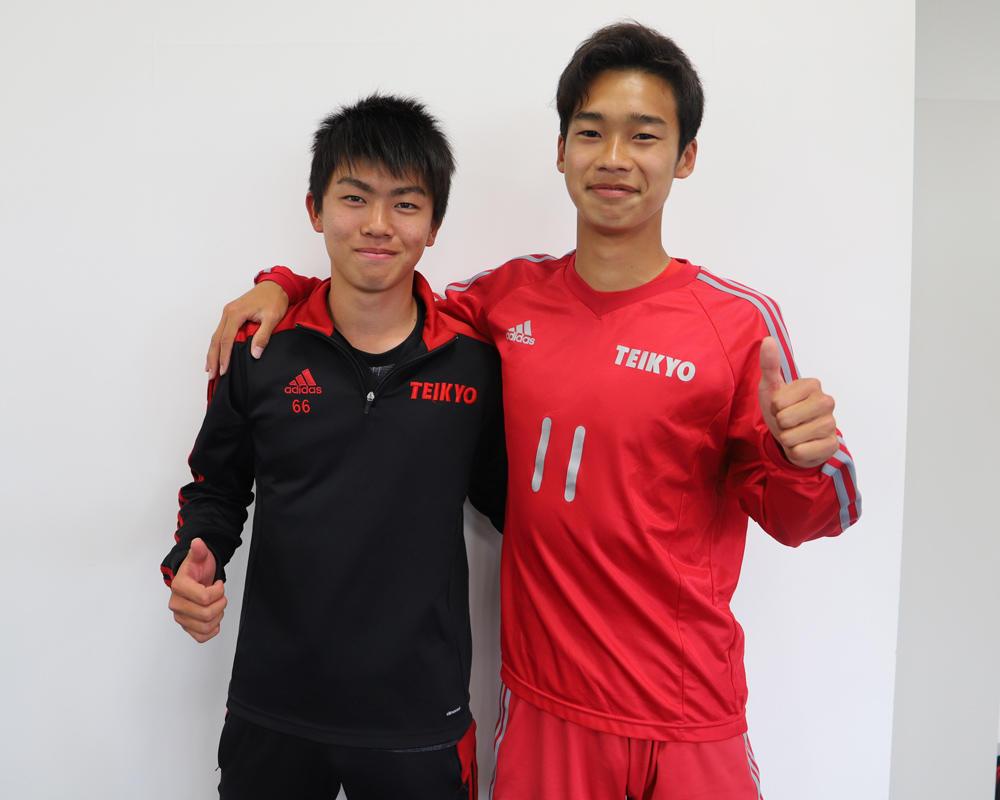 内山航太と吉村隆佑は何で山梨の強豪・帝京第三高校サッカー部を選んだのか?
