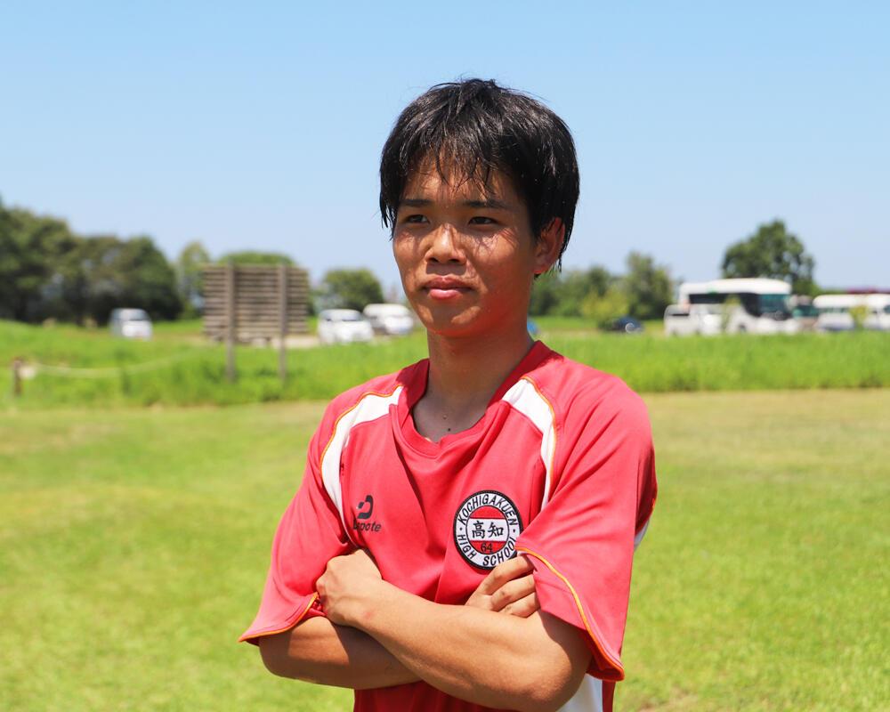 何で高知の強豪・高知高校サッカー部を選んだの?「参考になればと参加した体験入部で、森本先生の指導が熱かった」【2021年】