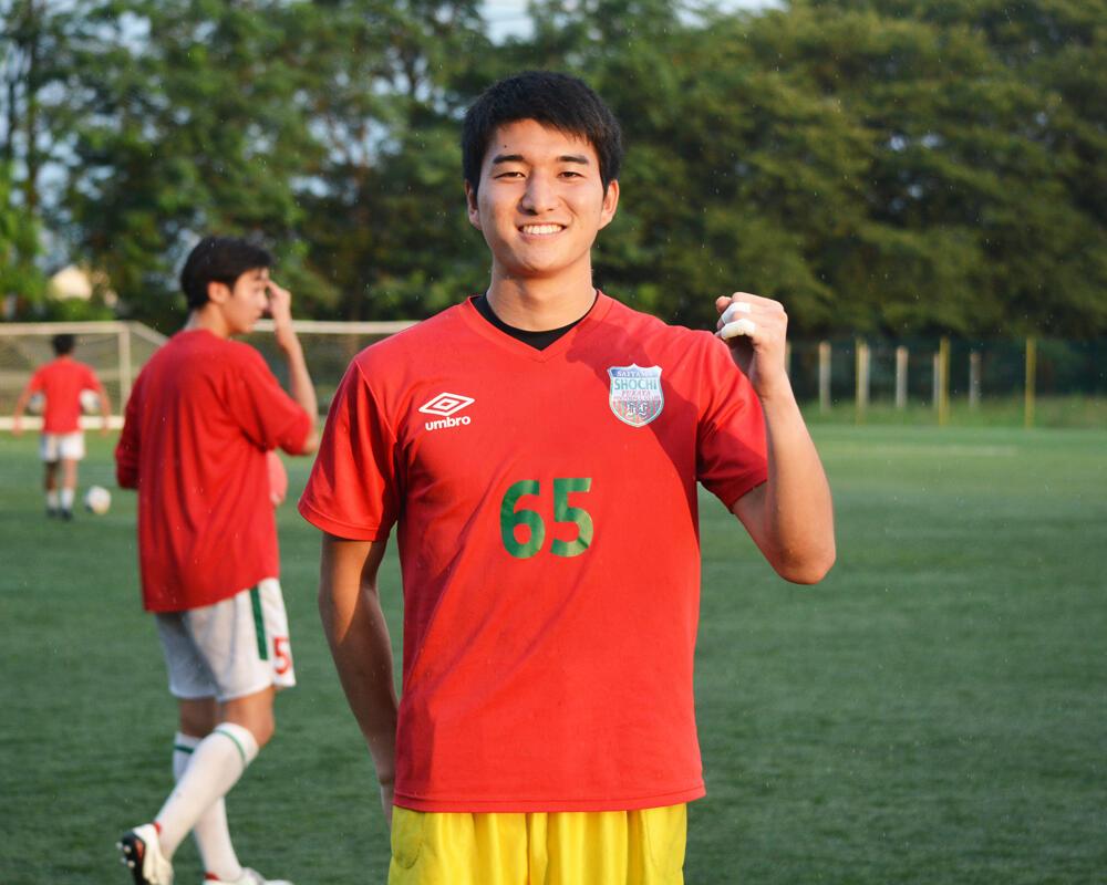 【2021年】何で埼玉の強豪・正智深谷高校サッカー部を選んだの?「4つ上の姉も正智深谷のサッカー部でマネージャーをやっていたんです」【インターハイ埼玉予選優勝校】