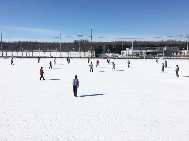 帯広北高校サッカー部あるある「冬は雪の上でサッカー!」