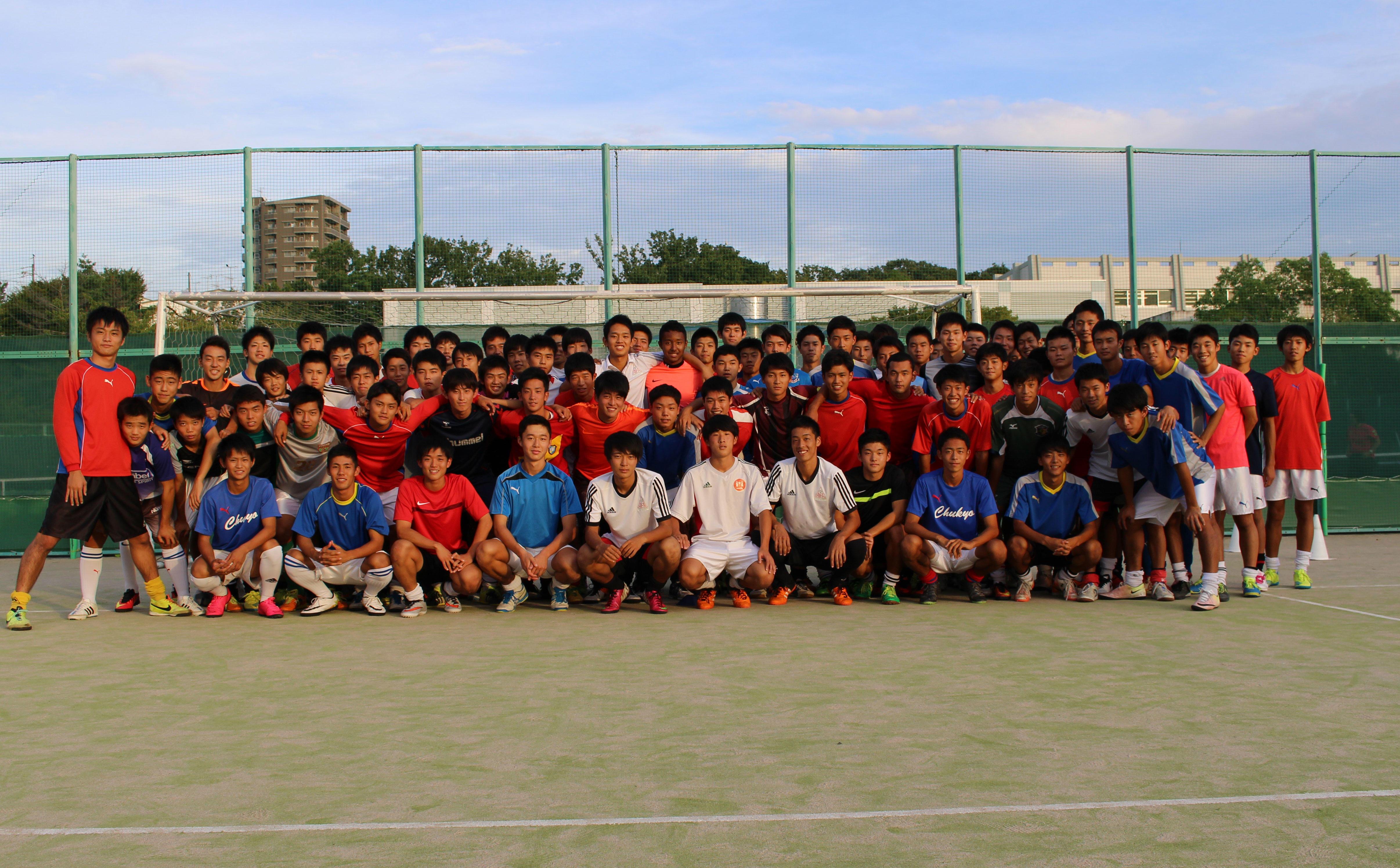 中京大中京高校サッカー部あるある「練習グラウンドでスパイクが履けない」