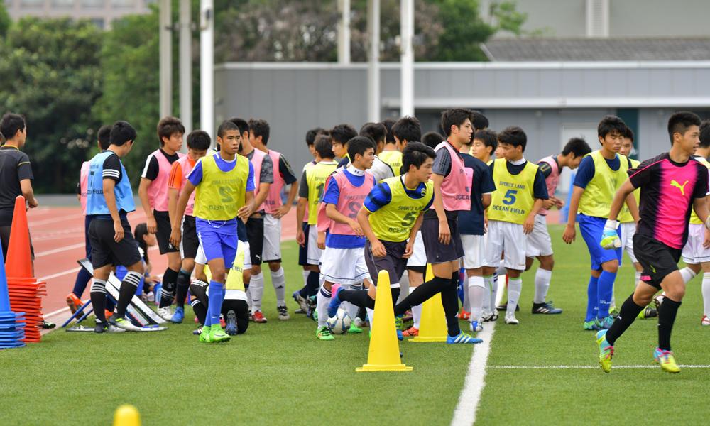 日大藤沢高校サッカー部あるある コーチ「解イチ、解ニ!」 選手「解散!」