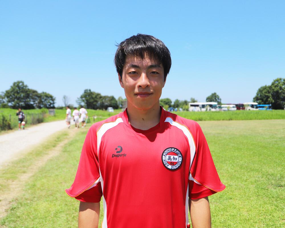 高知の強豪・高知高校サッカー部|エースストライカー・西田慎太郎の誓い「自分たちの代でも全国に行くには、これからもっと勝負強さをつけていきたい」【2021年】