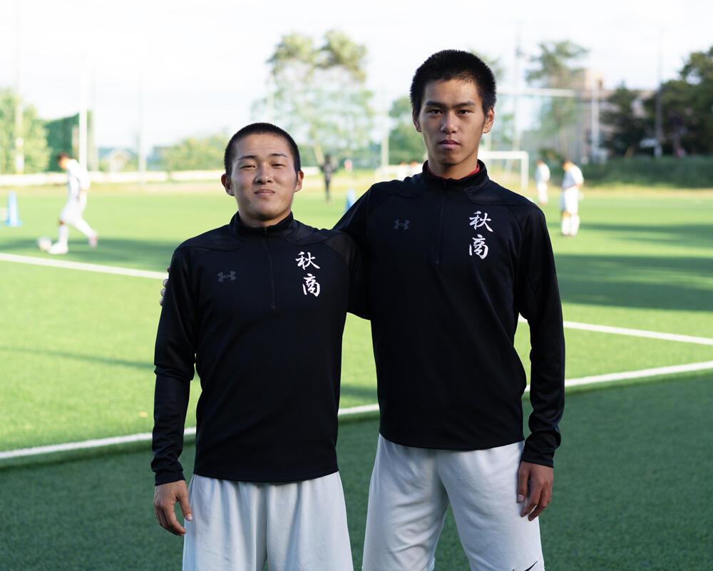 何で秋田の強豪・秋田商業高校サッカー部を選んだの?「県外の高校に行こうか迷っていたんですけど、やっぱり地元でサッカーしたいという思いがありました」【2020年】