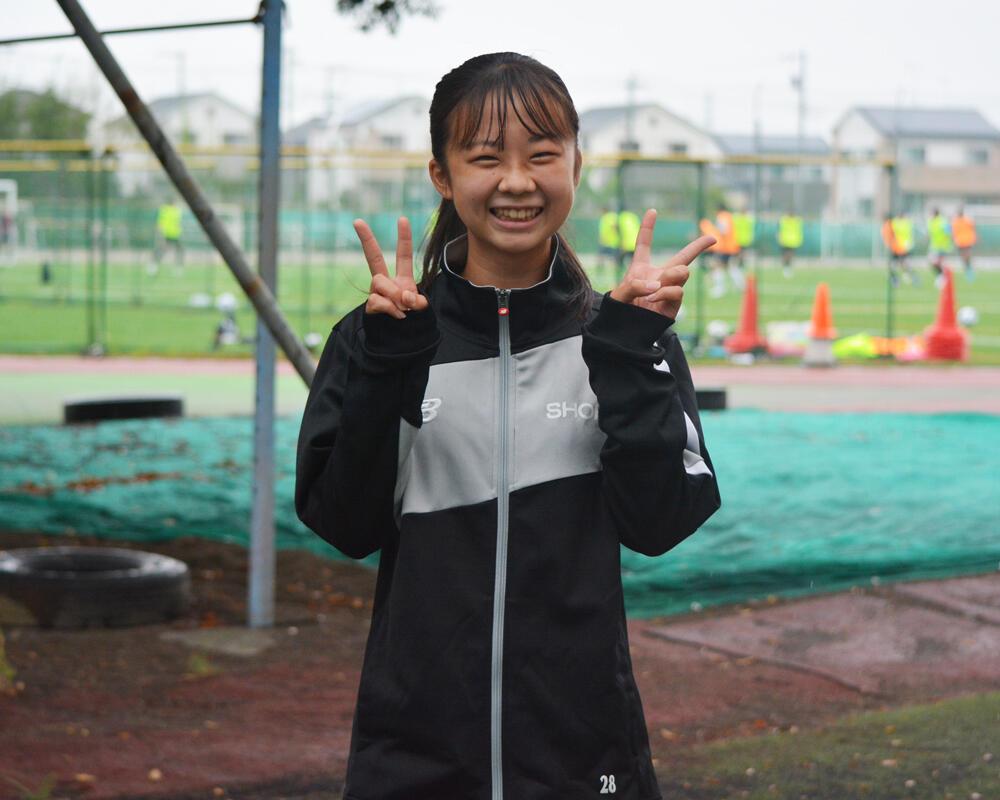 埼玉の強豪・昌平高校サッカー部|澁谷茉南マネージャーの本音「みんなが120%の力を出せるようサポートできるマネージャーになろうと思った」【2021年】