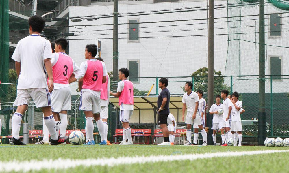 東京の強豪・大成高校サッカー部の練習の様子!|後編(23枚)