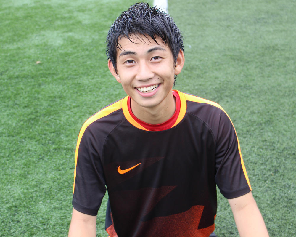 何で帝京大可児高校サッカー部を選んだの?「圧倒的にやられて、ここでやってみたいと思った」