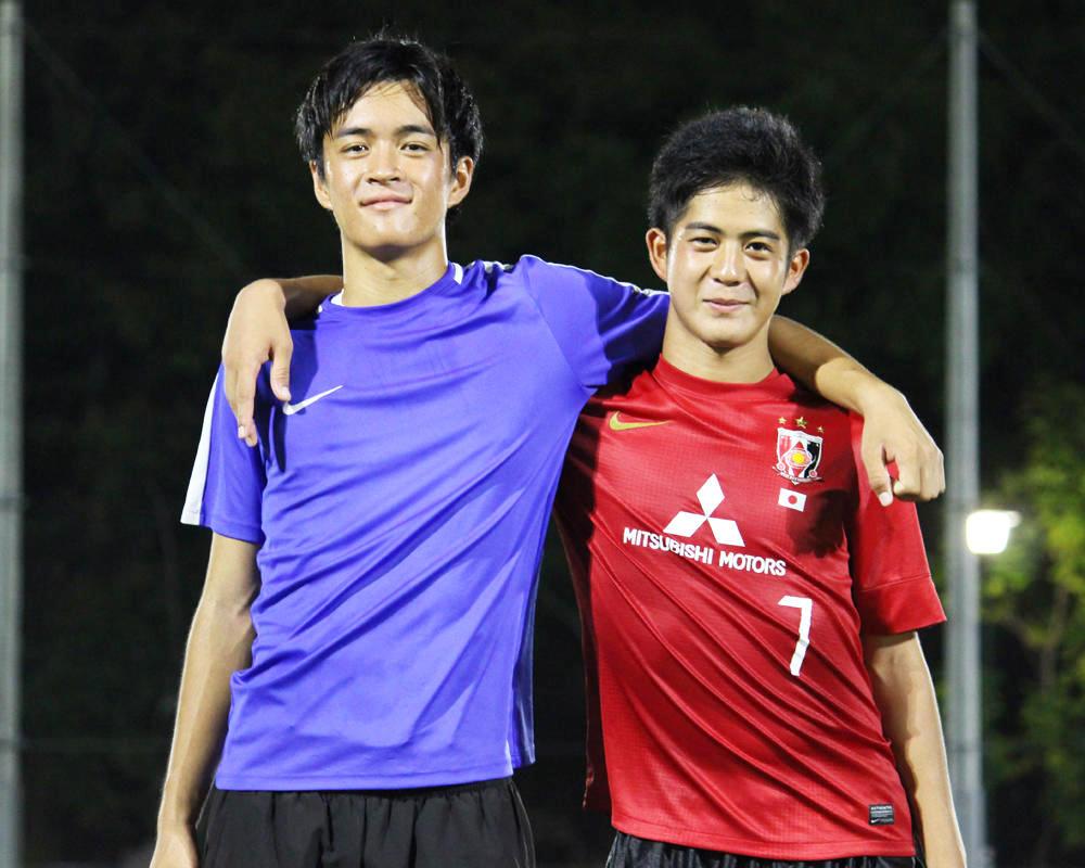 辻聖羽と岩松虎徹は何で愛知の強豪・名経大高蔵高校サッカー部を選んだのか?