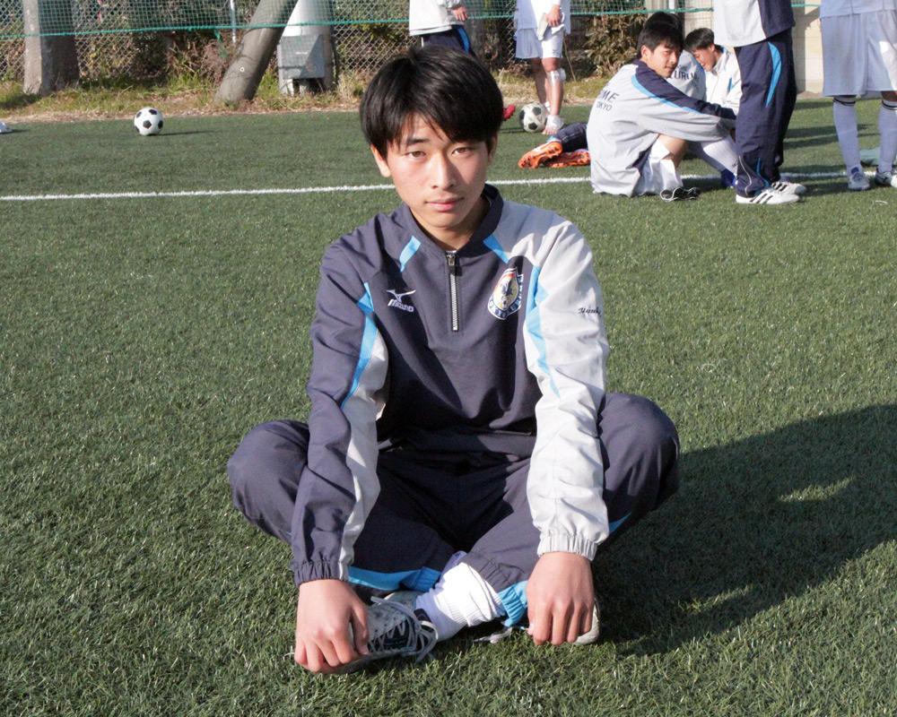 東久留米総合高校サッカー部の結城篤弥は、どんなスパイク履いてるの?