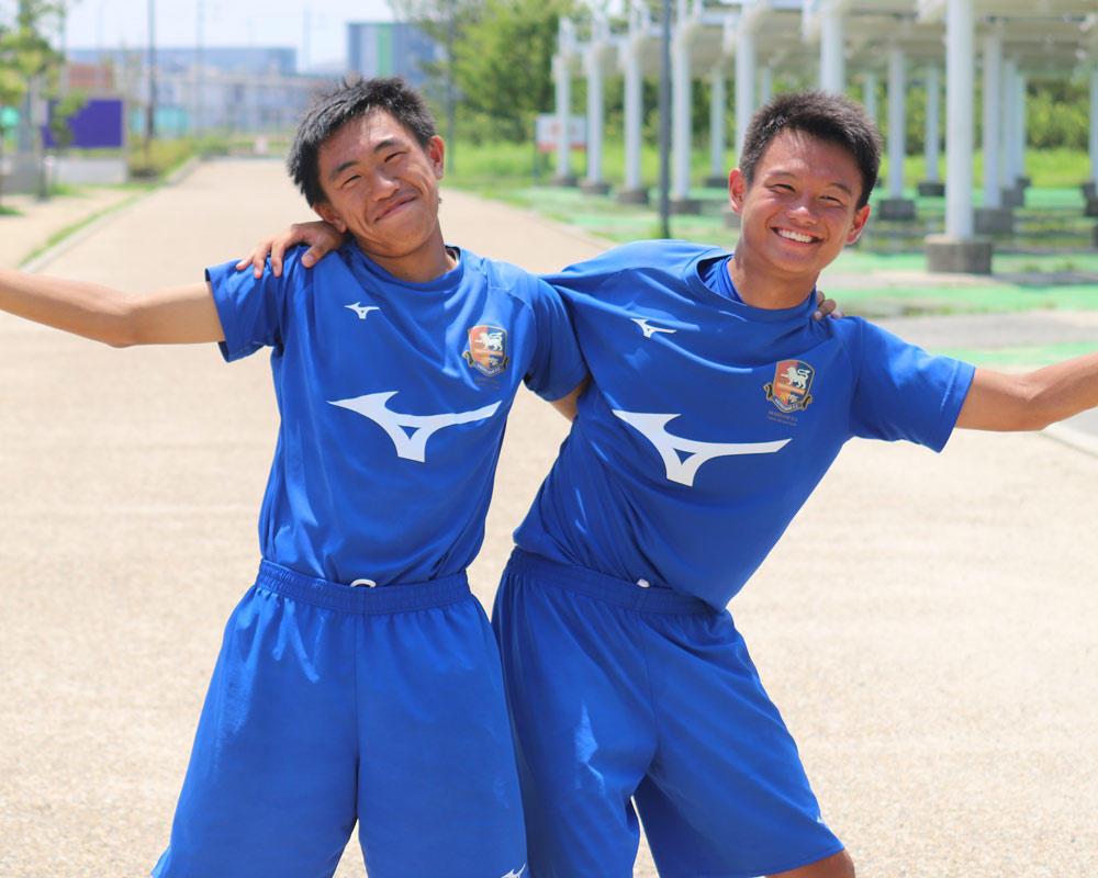 増田伊織と土居侑真は何で広島の注目校・安芸南高校サッカー部を選んだのか?