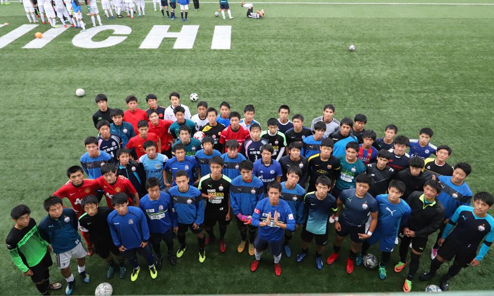 富山第一高校サッカー部の練習の様子やプレー以外の一面を掲載!(16枚)