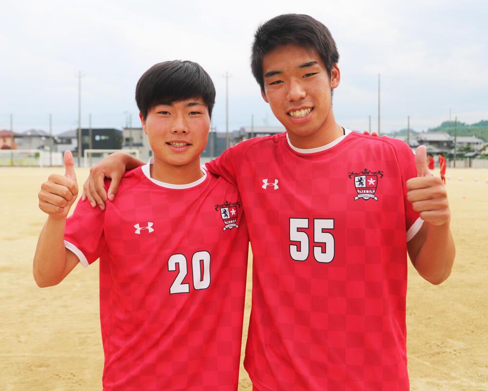 【2021年】何で愛媛の強豪・新田高校サッカー部を選んだの?「勢いがあって見ていて楽しかったので、自分もこのチームでサッカーがしたいと考えるようになりました」【インターハイ愛媛予選優勝校】