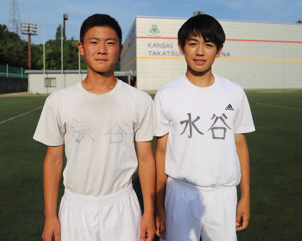 鎌谷一吹と水谷優佑は何で大阪の強豪・関大一高校サッカー部を選んだのか?【2019 インターハイ出場校】