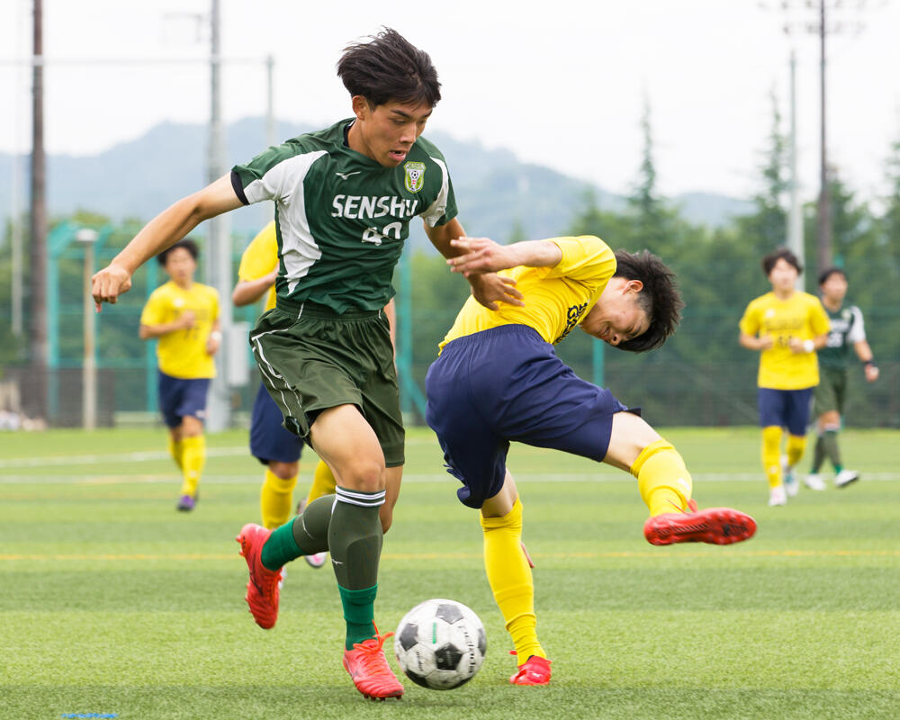岩手の強豪・専修大学北上高校サッカー部|吉武皇雅のキャプテンはつらいよ!?「独りよがりにならずに周りと協力し合いながらチームをよくしていきたい」【2021年】