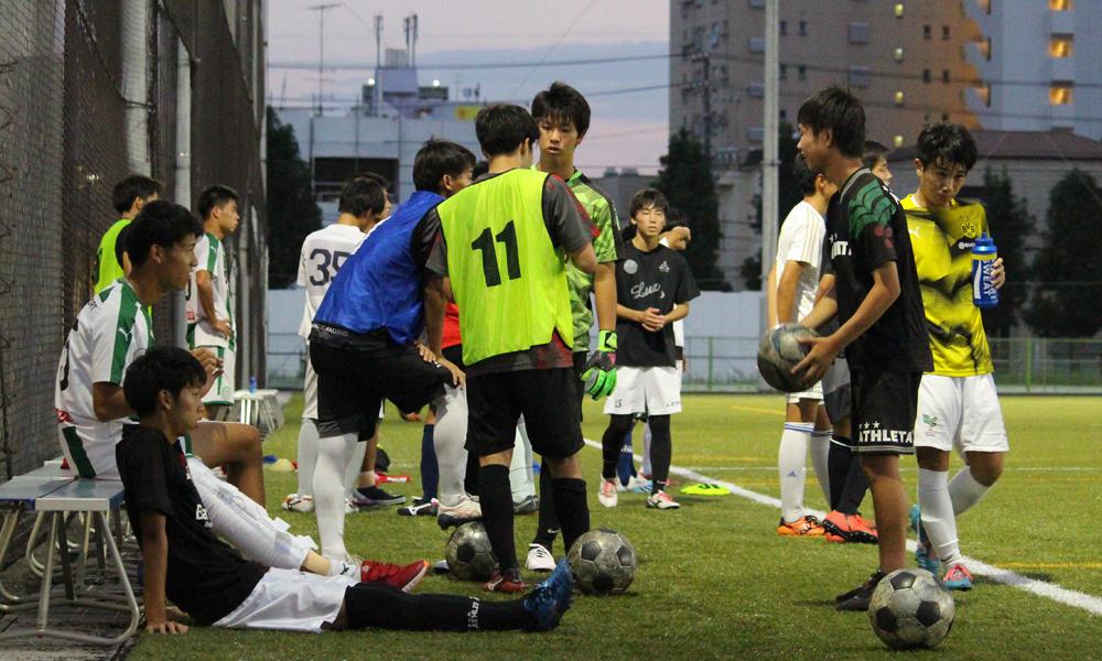 愛知の強豪・名経大高蔵高校サッカー部の練習の様子!