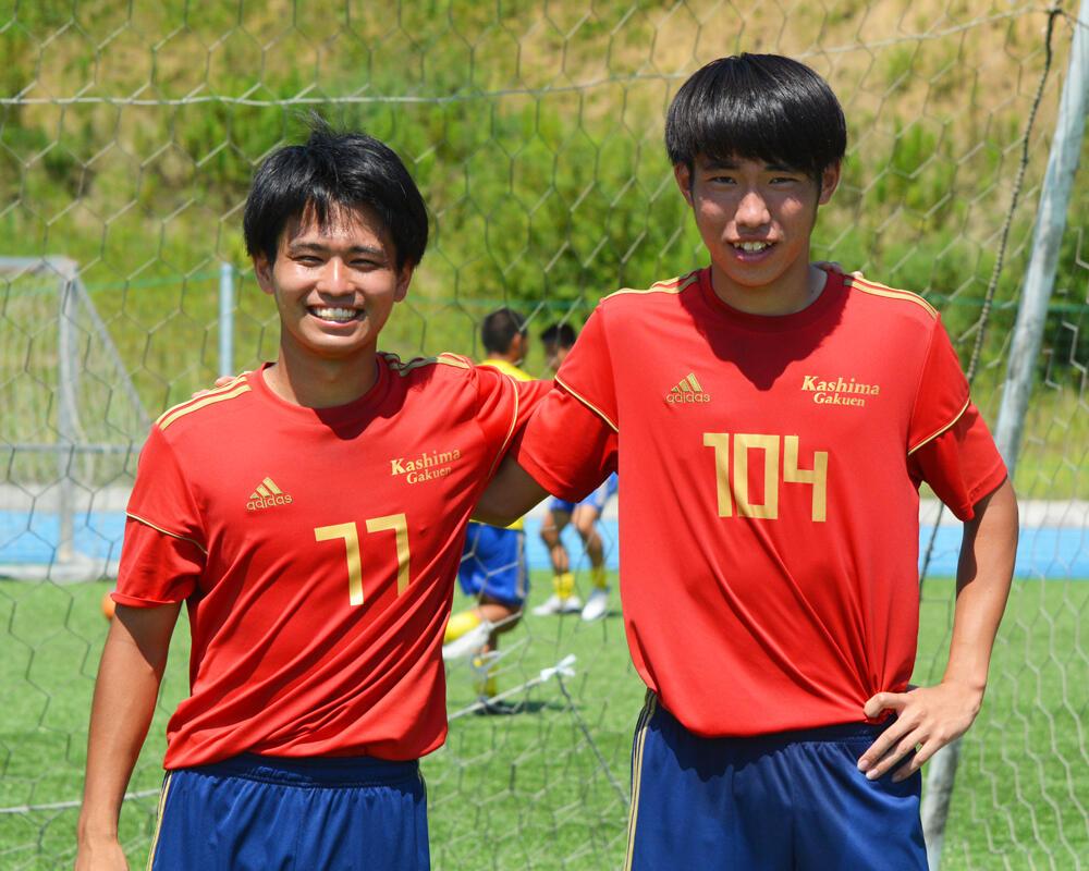 【2021年】何で茨城の強豪・鹿島学園高校サッカー部を選んだの?「親元を離れて自分を変えたいという想いがあり、鹿島学園を選びました」【インターハイ茨城予選優勝校】