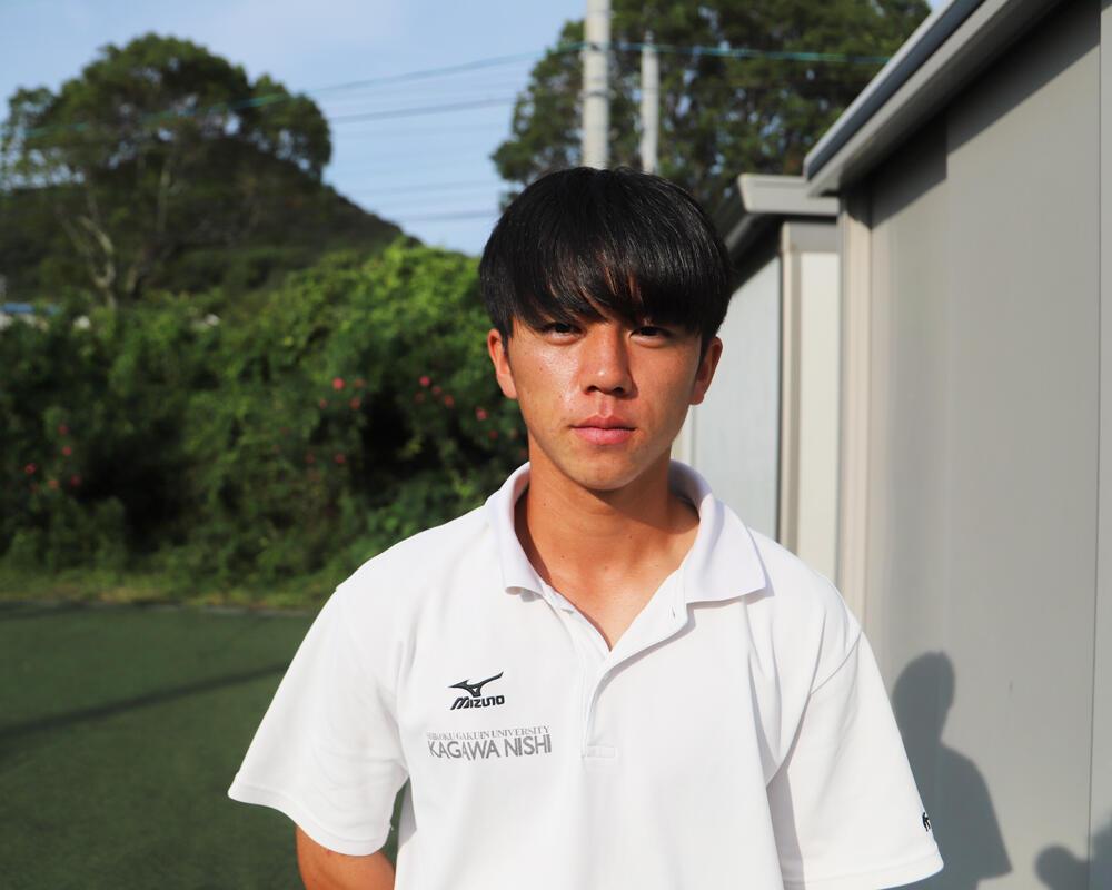 香川の強豪・四国学院大学香川西高校サッカー部|野中瞬生のキャプテンはつらいよ!?「あの時の自分と今を照らし焦ると少しずつは成長できている」【2021年】