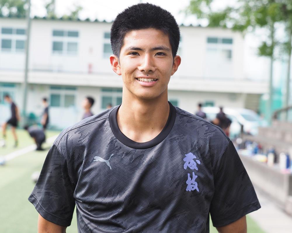 静岡の強豪・藤枝東サッカー部のキャプテンはつらいよ!?「人に言う分、自分もやらないといけないので、責任感とか行動力が以前より出ていると思います」【2020年】