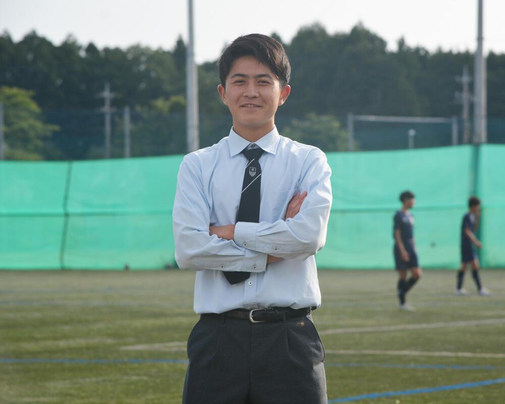 【2021年】何で茨城の強豪・明秀学園日立高校サッカー部を選んだの?「中学校の時から身体能力を生かした上でサッカーをやりたいと思っていました」