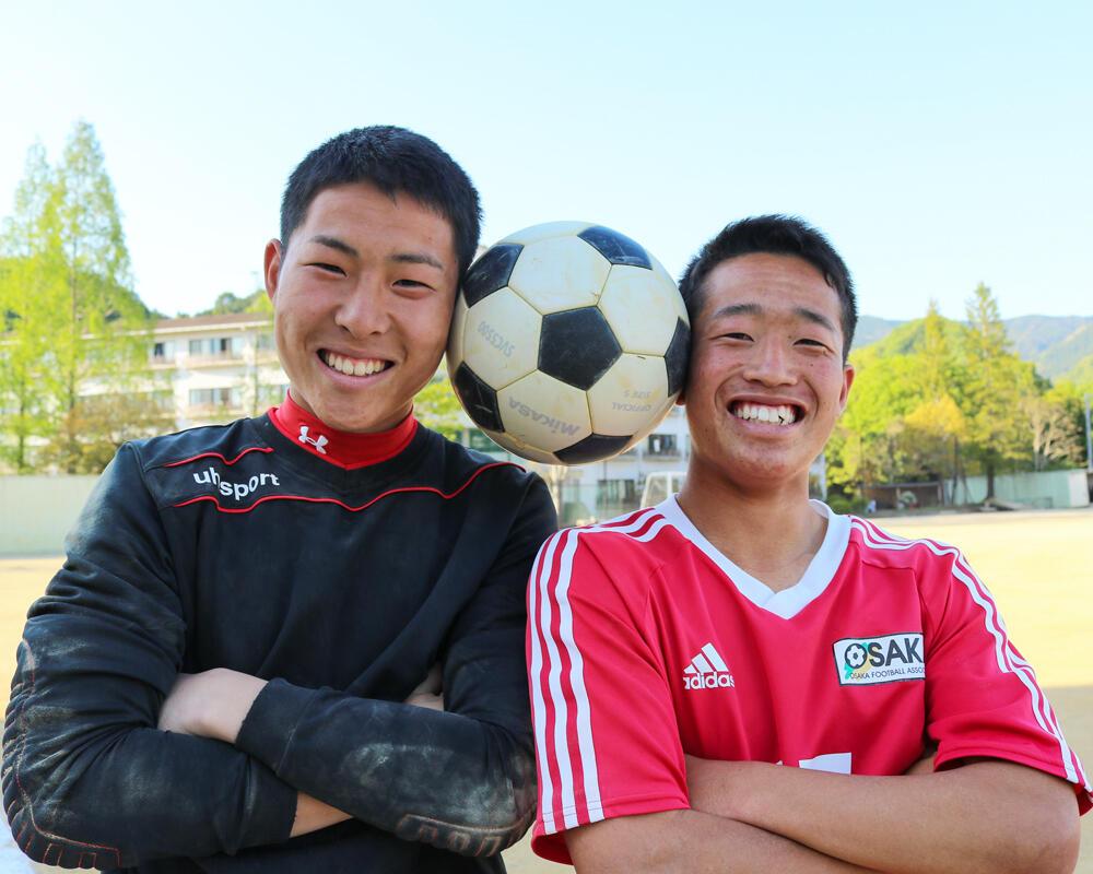 【2021年 始動!】何で和歌山の強豪・初芝橋本高校サッカー部を選んだの?「GKをやっていた父が『お前ならやれる、自信を持ってやってこい』と背中を押してくれました」