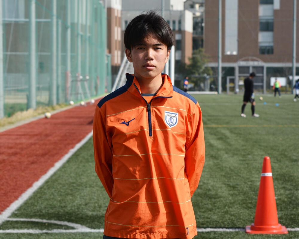 【2021年 始動!】何で福岡の強豪・九州国際大学付属高校サッカー部を選んだの?「中学時代に母が泥だらけのユニホームを一生懸命洗ってくれていたのですが、今はその大変さを実感していて感謝をすごくしています」