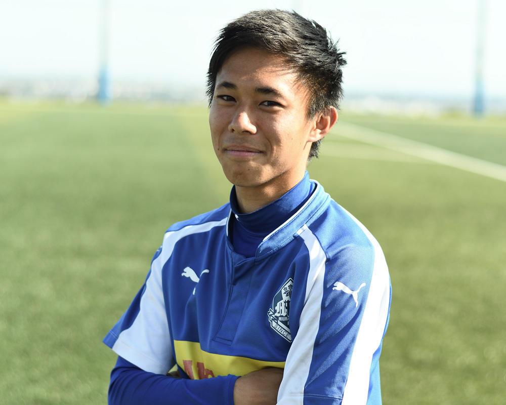 何で三浦学苑高校サッカー部を選んだの?「夏くらいに推薦をもらってここに決めた」