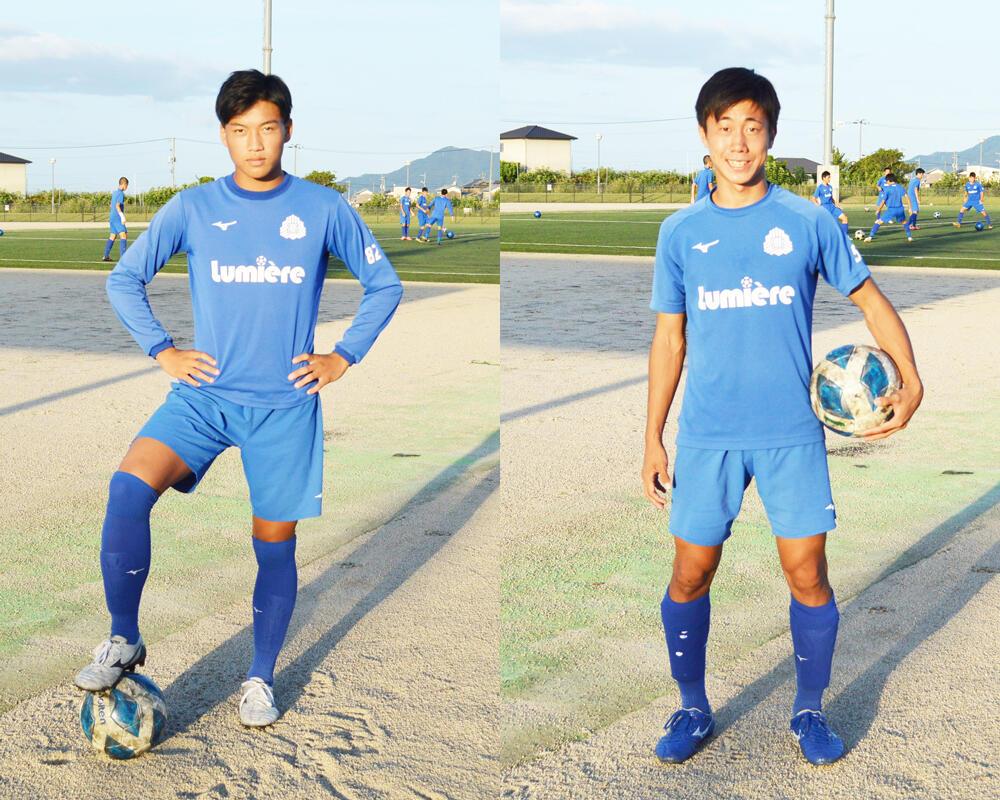 何で岡山の強豪・玉野光南高校サッカー部を選んだの?「全員で攻め、全員で守るサッカーがかっこよくて、この青色もかっこよくて、あこがれていました」【2020年】