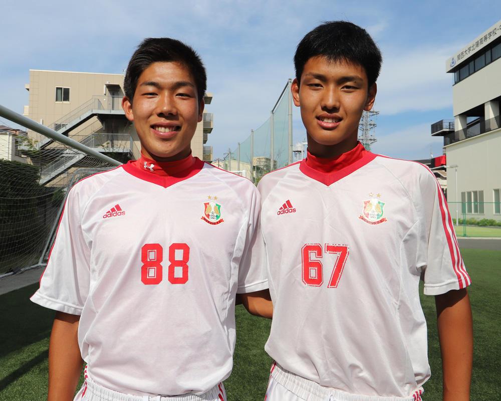 竹下と片岡のツインタワーは何で関大北陽高校サッカー部を選んだのか?