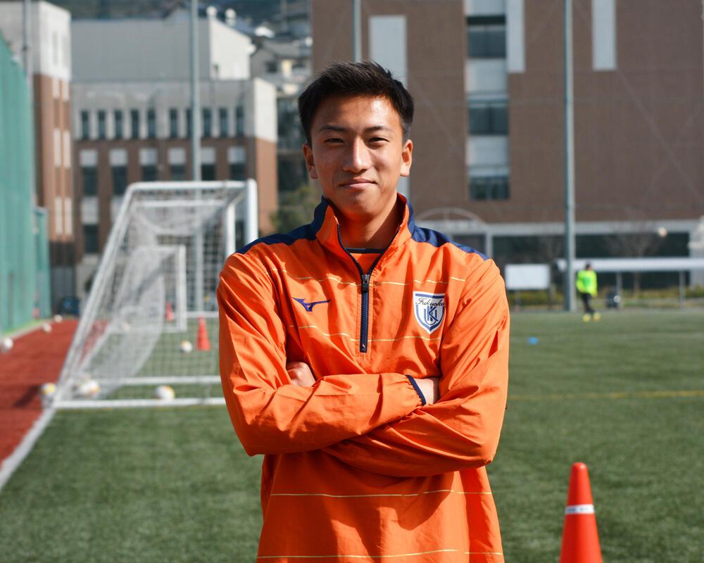 【2021年 始動!】福岡の強豪・九州国際大学付属高校サッカー部のキャプテンはつらいよ!?「みんなの前で『覚悟を決めてやるので自分にキャプテンを任せてくれませんか?』という話をし、みんなが認めてくれてキャプテンになりました」