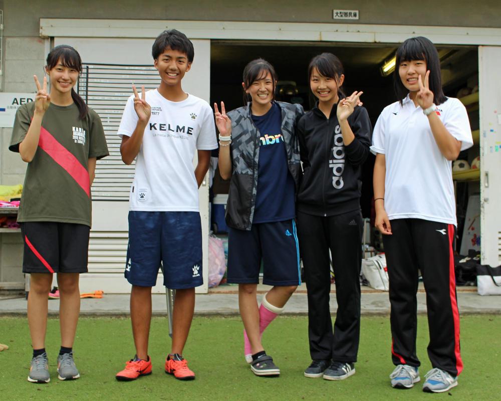 刈谷高校サッカー部のマネージャーにインタビュー!