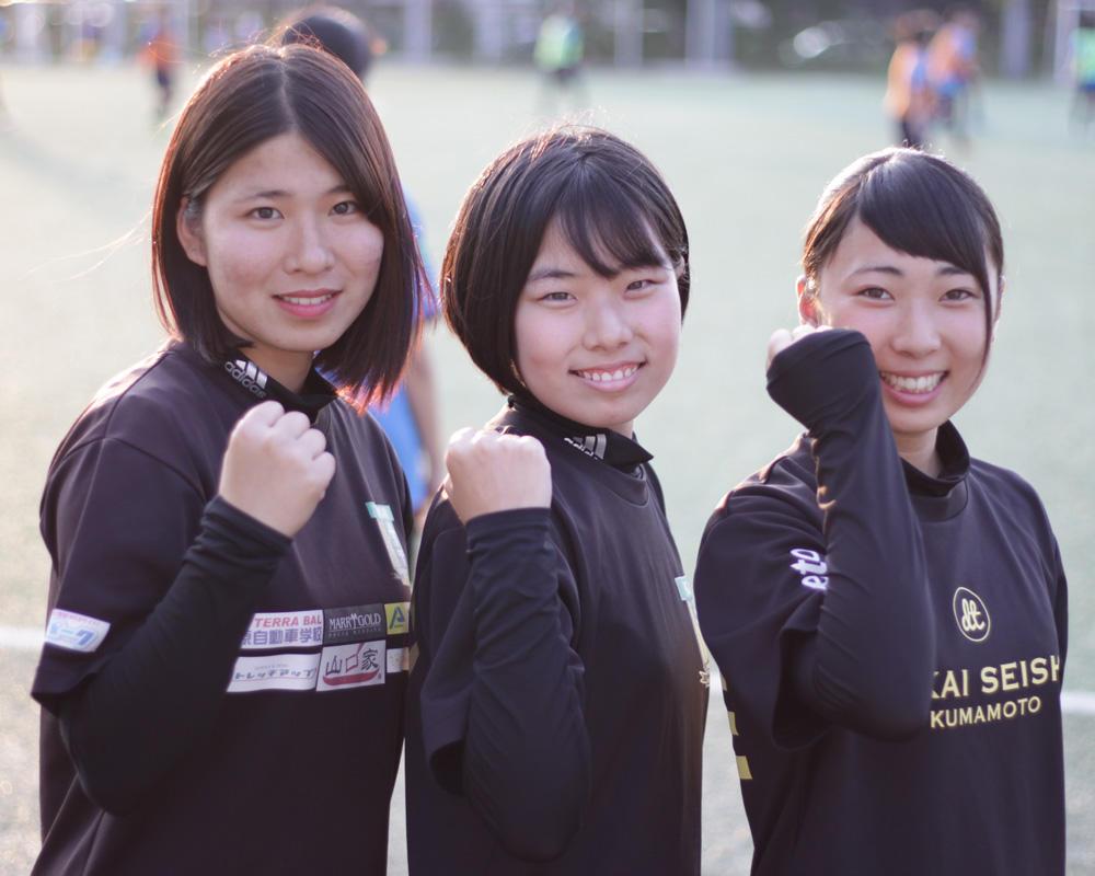 東海大熊本星翔高校サッカー部のマネージャーさんに直撃インタビュー!
