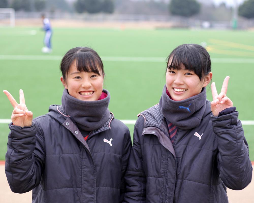 大津高校サッカー部のマネージャーさんに直撃インタビュー!